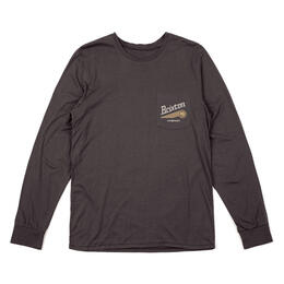 Brixton Men's Maverick Long Sleeve Pocket Tee Shirt