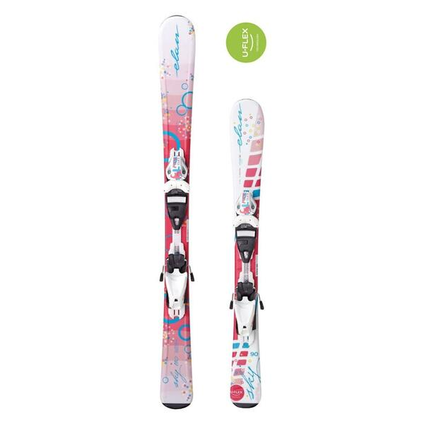 Elan Youth Sky QT Skis with QT EL 7.5 Bindings '15