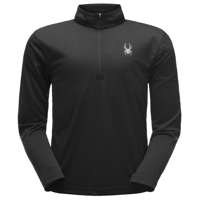 Spyder Men's Limit Solid Zip T Neck
