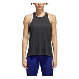 Adidas Women's Performance Open Back Tank Black
