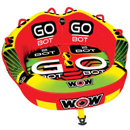 Wow Sports Go-Bot 2 Person Tow Tube '20