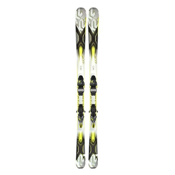 K2 Men's AMP 80 XTi All Mountain Skis with MXC 12TC Bindings '14