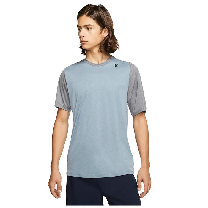 Hurley Men's Nu Basics Quick Dry Short Slee
