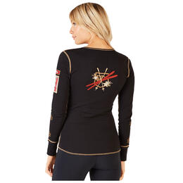 Alp-n-Rock Women's Alpine Ski Henley Shirt