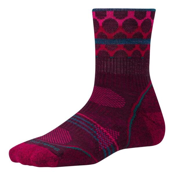 Smartwool Women's Phd Outdoor Light Pattern Mid Crew Socks