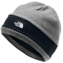 The North Face Girl's TNF Logo Stripe Beanie