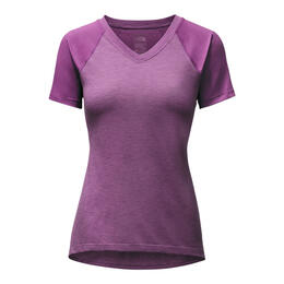 The North Face Women's Reactor V-neck Short Sleeve Shirt