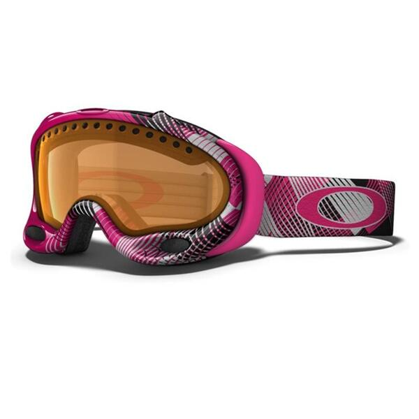 Oakley A Frame Goggles With Persimmon Lens