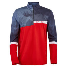 Spyder Men's Paramount Zip T-Neck