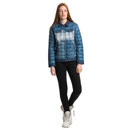 Ellabee Women's Mont Blanc Denim Print Jacket