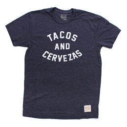Original Retro Brand Men's Tacos & Cervezas Short Sleeve T Shirt