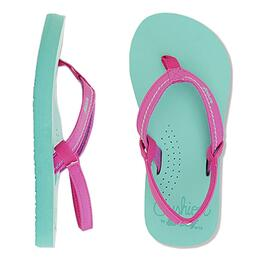 Reef Girl's Little Stitched Cushion Sandals