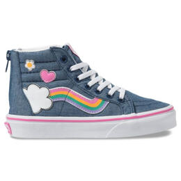 Vans Girl's SK8 Hi Zip Casual Shoes