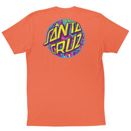 Santa Cruz Men's Spill Dot Short Sleeve T Shirt