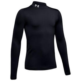 Under Armour Boy's ColdGear Mock Long Sleeve Shirt