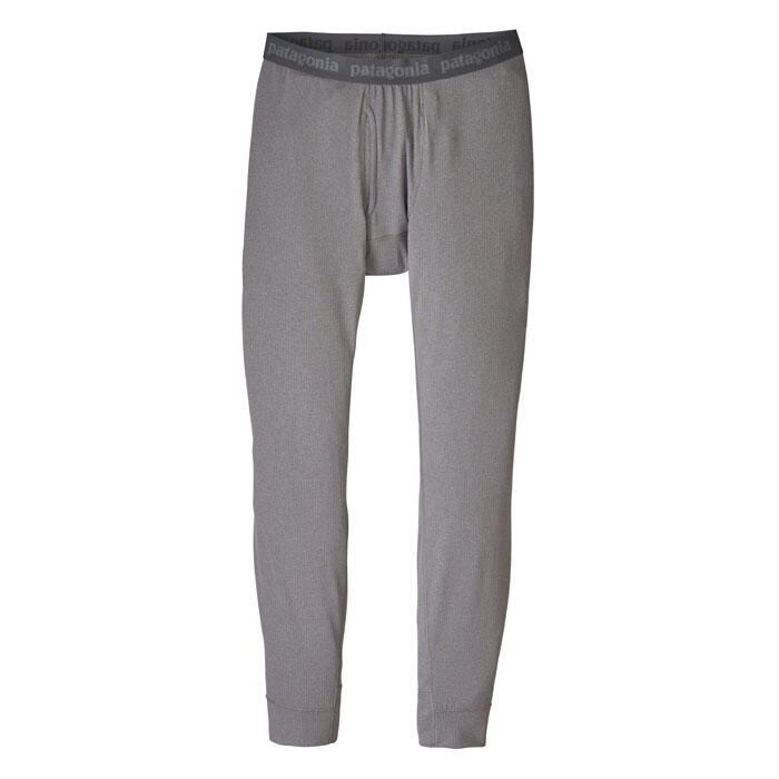 Patagonia Men's Capilene Midweight Bottoms Forge Grey