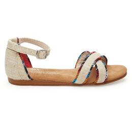 Toms Children's Correa Burlap Sandals