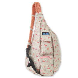 Kavu Women's Chillen Flamingo Rope Bag