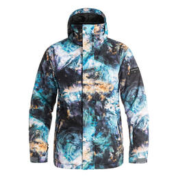 Quiksilver Men's Mission Print Insulated Ski Jacket