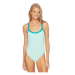 Splendid Women's Color Blocked One Piece Swimsuit