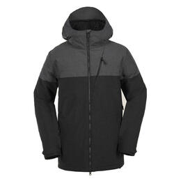 Volcom Men's Ghost Stripe Insulated Snow Jacket