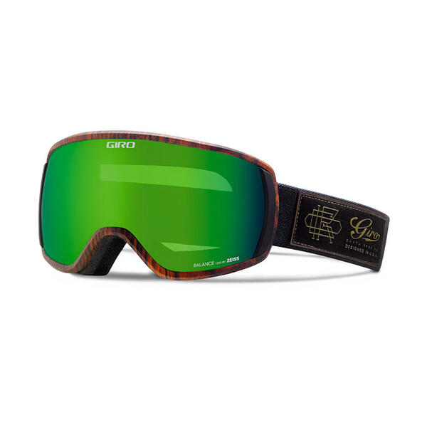 Giro Balance Snow Goggles With Loden Green