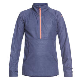 Roxy Girl's Cascade Technical Half Zip Fleece Jacket