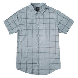 Rvca Men's Handle Short Sleeve Button Up Shirt