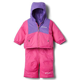 Columbia Toddler Girl's Double Flake Snow Set