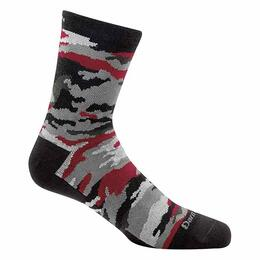 Darn Tough Vermont Boy's Camo Crew Light Socks