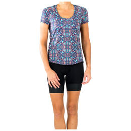 Shebeest Women's Controlled Burn Cycling T Shirt