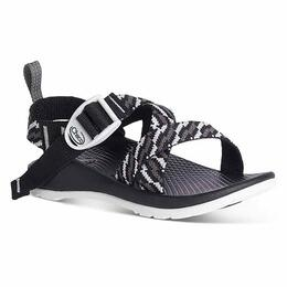 ba8aa7b1c335 Chaco Kids Z 1 EcoTread Sandals Static Black