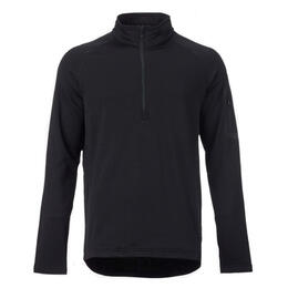 Burton Men's Ak Grid Half Zip Long Sleeve Fleece Shirt