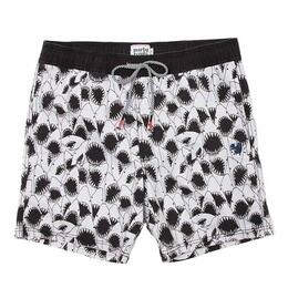 Party Pants Men's Sharkpile Beaver Swim Shorts