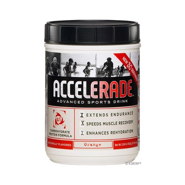 Accelerade Endurance Formula Drink Mix - Orange