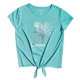 Roxy Girl's Summer Long Tie T Shirt