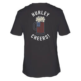 Hurley Men's Cheers Bro Short Sleeve T Shirt