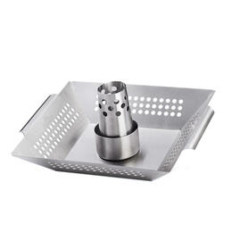 Napoleon Stainless Steel Chicken Roaster And Wok