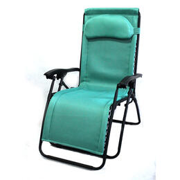 LB International Padded Gravity Lounge Chair
