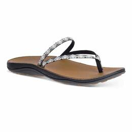 Chaco Women's Abbey Sandals Peaks Black/White