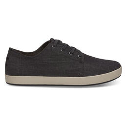 Toms Men's Payton Casual Shoes Black Chambray
