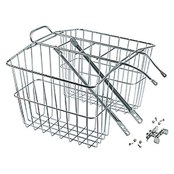 Wald 520 Rear Twin Bolt-on Bicycle Basket