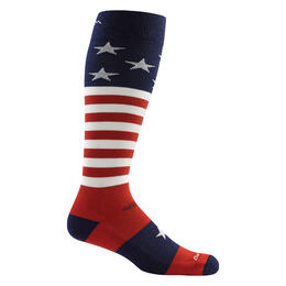 Darn Tough Vermont Men's Captain Stripe Over-the-Calf Cushion Socks