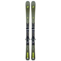 K2 Women's Anthem 80 Skis with ERC 11 TCx Light Quikclik Bindings '21