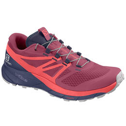 Salomon Women's Sense Ride 2 Trail Running Shoes Malaga