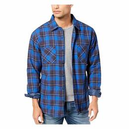 Quiksilver Men's Fleece-Lined Flannel Long Sleeve Shirt