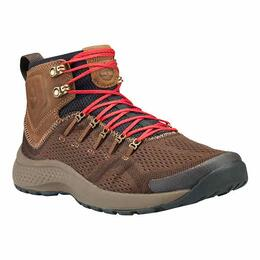Timberland Men's Flyroam Trail Mixed-Media Dark Brown Boots