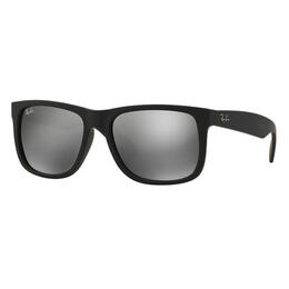 Ray-Ban Justin Classic Sunglasses With Grey Mirror Lenses