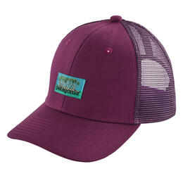 Patagonia Girl's Palms Spot Label Trucker Hat