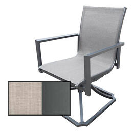 North Cape Rio Gunmetal Swivel Rocker